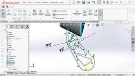 Solo planos en AutoCAD + SolidWorks