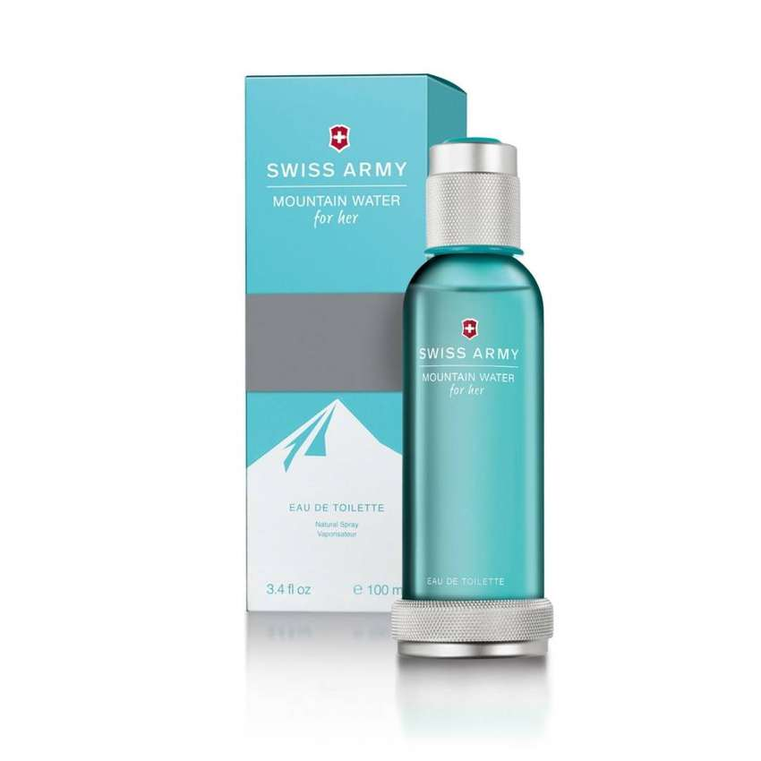 Perfume Swiss Army Mountain Water 100ml Mujer Eros 0