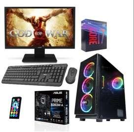 Computador Equipo Torre Pc Gamer Intel Core I7 9700 Ssd240gb