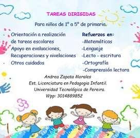 Licenciada en Pedagogía Infantil