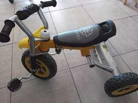 Triciclo cross scoop