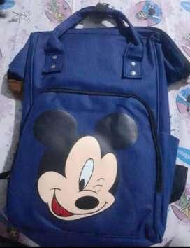 Mochila de Mickey azul marino