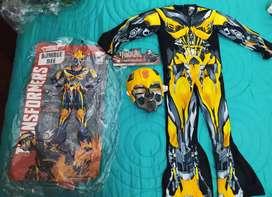 Vendo disfraz Transformers talla 4