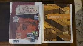 Vendo Manuales De Geografía