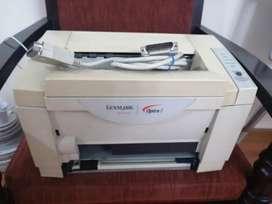 Impresora lexmark optra E, laser