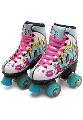 Vendo patines poco uso en buen estado