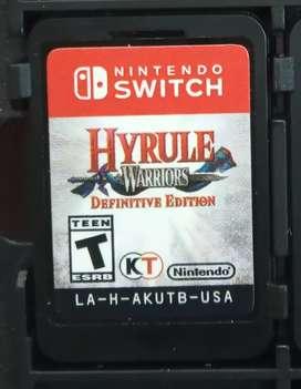 Juego de Nintendo switch