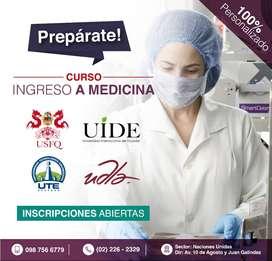 Preparación Ingreso Medicina Universidades /  Asesoría, Nivelaciones.