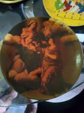Plato virgen cerámica calle 47 10 05 barrio el troncal