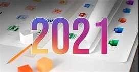 instalación Microsoft office profesional plus 2021 LTSC y versiones anteriores