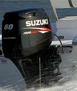 2 Motores fuera de borda suzuki 60 hp