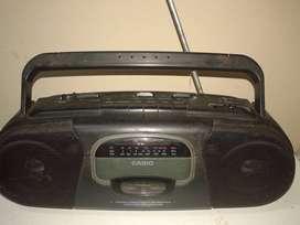 Radio Grabador Casete Casio Sd 202s 3 Ban-funciona