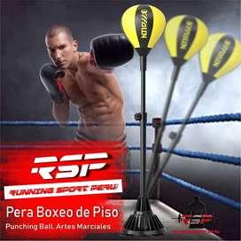 Saco De Boxeo Saco De Suelo Para Práctica De Boxeo Porfiado