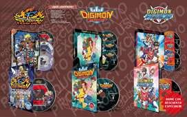 Anime Digimon Adventure 4 5 6 Serie Completa Hd Latino