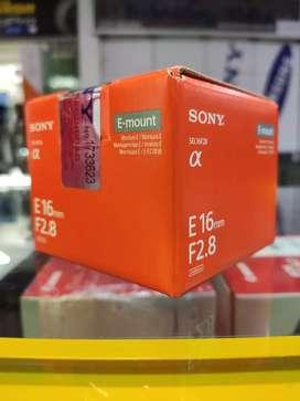 Lente Sony 16 mm F2.8