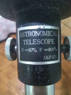 Vendo telescópio