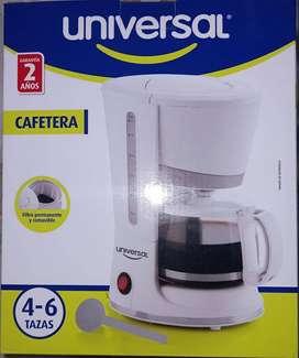 Cafetera De 4 A 6 Tazas