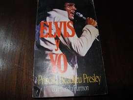 ELVIS Y YO - Libro biografico 1986 ARG