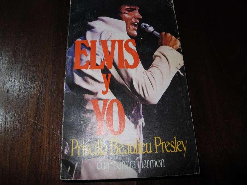 ELVIS Y YO - Libro biografico 1986 ARG 0