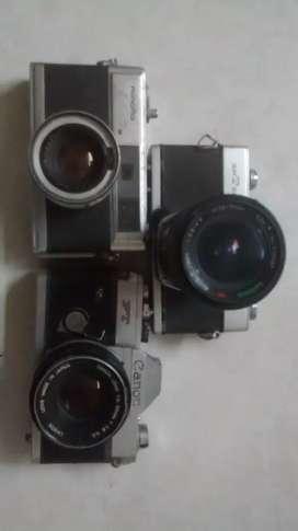 Camaras Fotograficas antiguas de colección