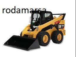 Ecoplantas 12X16MACIZA + LLANTA para minicargadora FCA- Rodamarsa