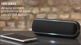 Parlante bluetooth Sony srs-xb22 Precio negociable