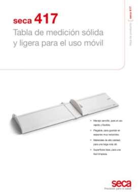 Tallimetro Pediatrico Marca Seca 417