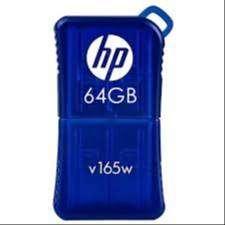 Memoria Hp Flash Drive Usb V165w 64gb 64 Gb Azul Pen Drive