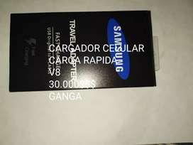 Cargador $30.000carga rápida Samsung v8