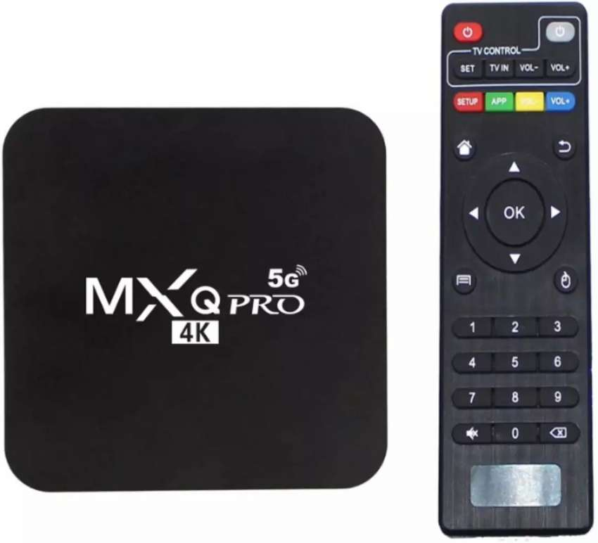 TV BOX 4GB DE RAM 64 GB DE MEMORIA ROM ANDROID 10.1 5G - 4K