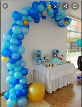 Decoraciones en globos