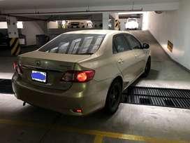 Toyota Corolla GLI 2012 dual