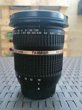 Lente gran angular Tamron 10-24 mm f3.4-4.5 Di ll para Nikon DSLR