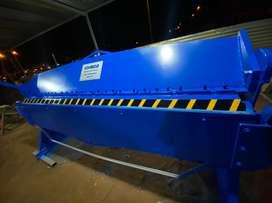 Dobladora de tol de 2.45 mtr cap de 2 m.m con transporte y garantía. Tipo niagra.