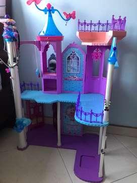 Castillo Barbie Arcoiris