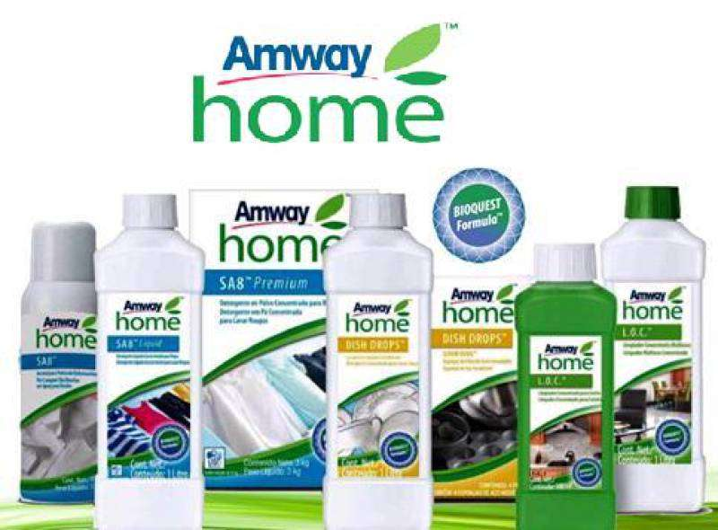 Amway línea hogar salud 0
