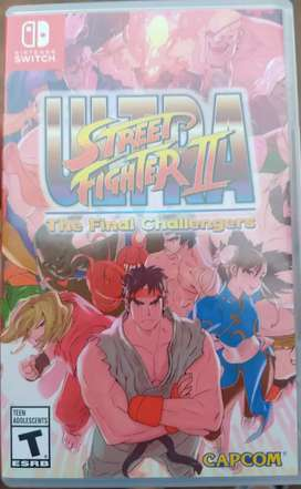 Ultra streer figther ll Nintendo Switch