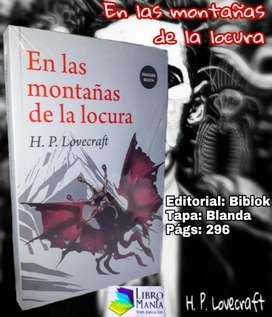 En las montañas de la locura. H. P. Lovecraft. Biblok