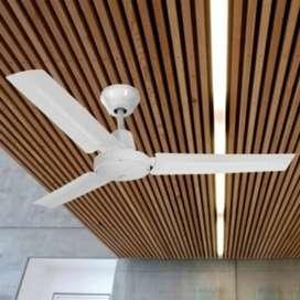 Ventilador de techo Tipo comercial. Garantía. Nuevos.