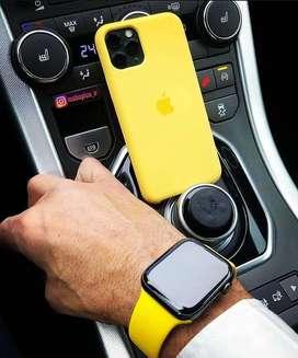 Silicon case apple