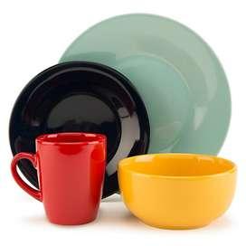 Juego de Vajilla Ceramica 16 Piezas
