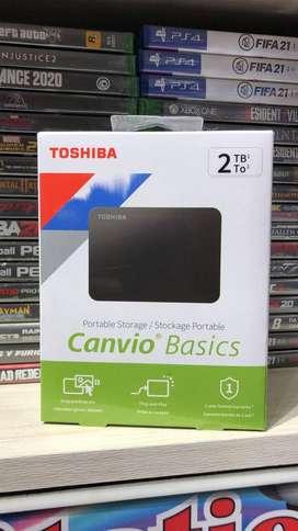 Disco Duro Externo 2TB Toshiba Original, Nuevo, PC- PS4-Xbox One.