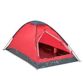 camping para 2 rojo con negro