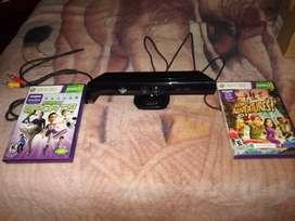 Kinect 360 con juegos