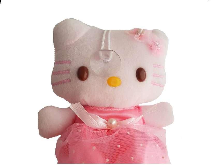 Muñeca Hello Kitty Con Sopapa Para Colgar 18 Cm De Altura 0