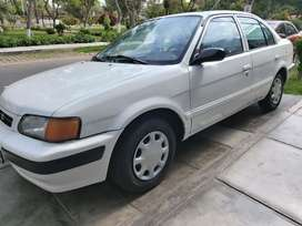 Toyota Tercel 1997, Mecanico, Motor 1300cc Carburado, Solo gasolina
