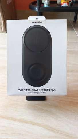 Cargador inalambrico Samsung duo pad Nuevo. Negociable.