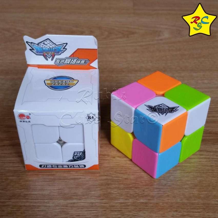 Cubo Rubik Candy Colors Feichang Cyclone Boys 2x2