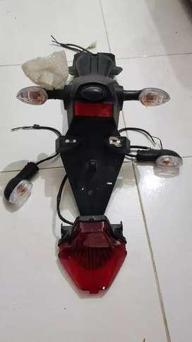 Guardabarro, stop, y direccionales Yamaha r3 mt07