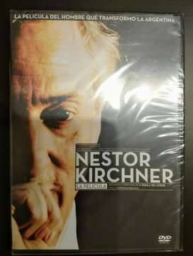 """DVD """"Néstor Kirchner: la Película"""". Nuevo"""